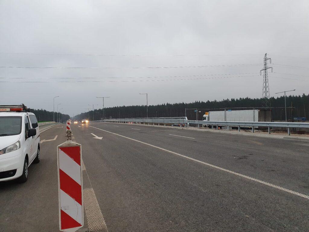 Zmiana organizacji ruchu nawęźle drogowym Szczecin Kijewo
