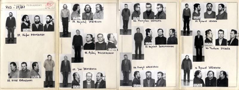 zdjęcia-osób-zatrzymanych-strajki-grudzień-1981- Szczecin