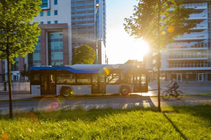 autobusy elektryczne program Gepard Szczecin