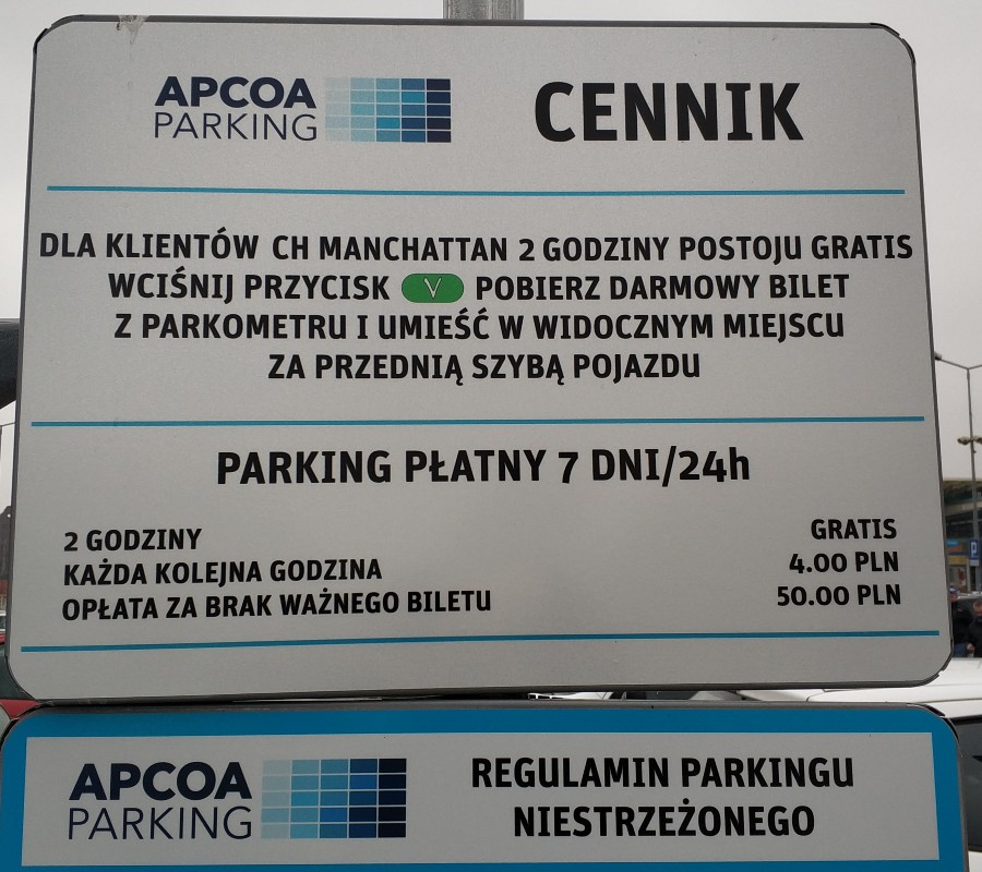 cennik-parkingu-przy-targowisku-Manhattan-Szczecin-Sztaszica-1