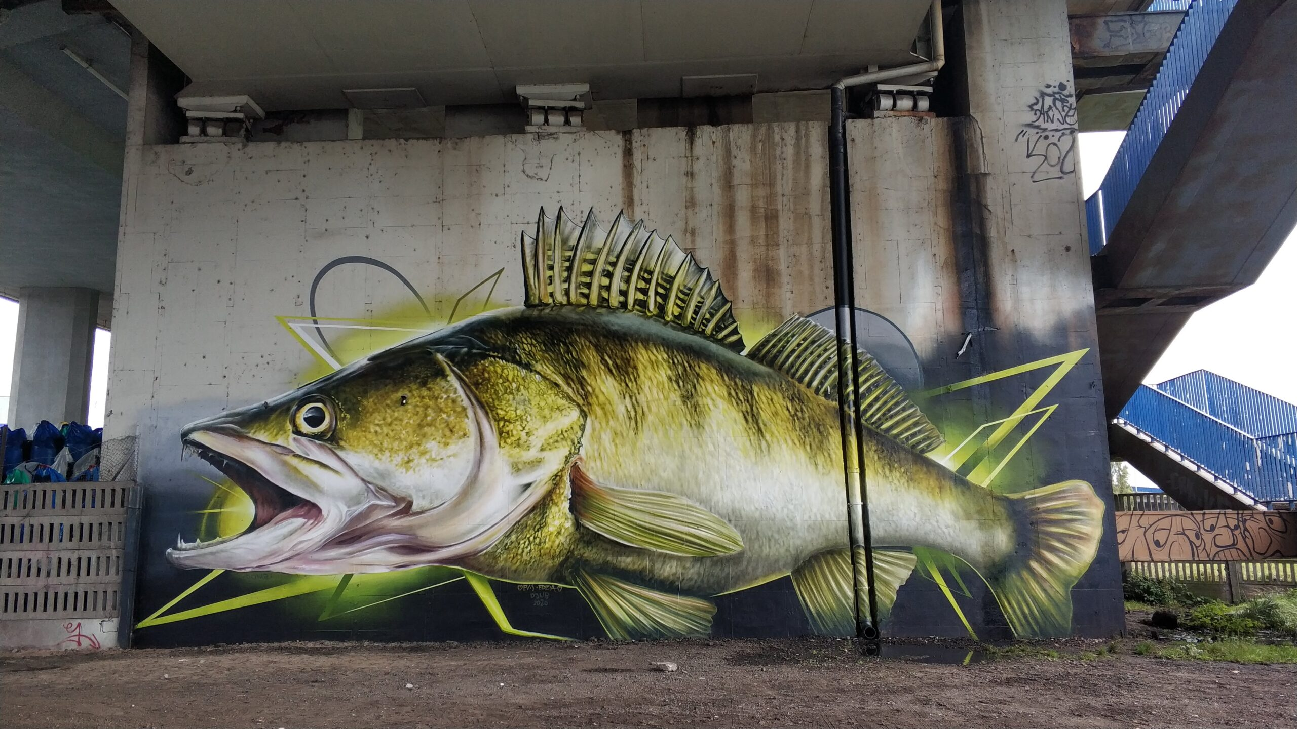 graffiti wSzczecinie bezpozwolenia