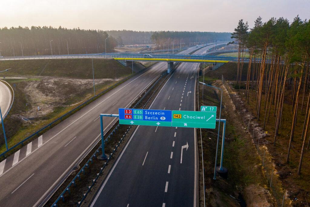 rozwój infrastruktury drogowej naPomorzu Zachodnim 2020