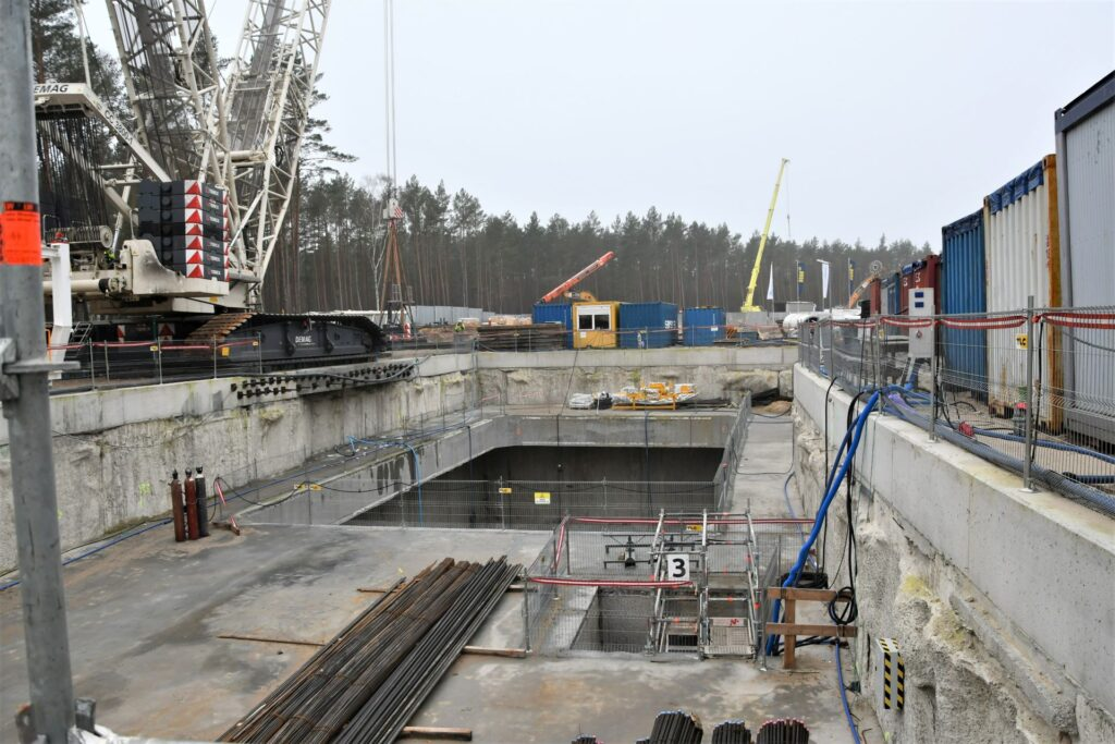 tunel wŚwinoujściu wieści zplacu budowy