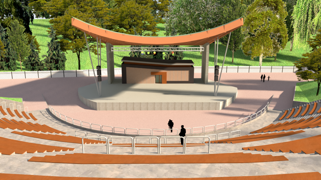 koncepcja namodernizację stargardzkiego amfiteatru