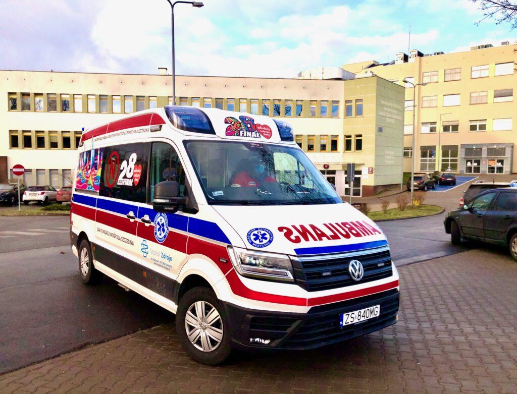 sprzęt odWOŚP dla szpitala Zdroje 2020
