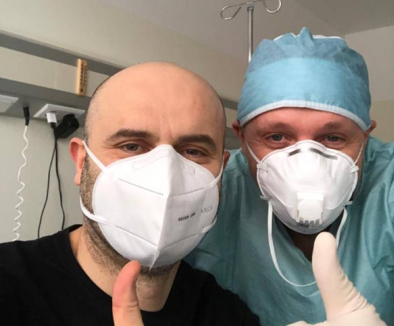 Przekaż 1% na leczenie i rehabilitację dr Marka Zienkiewicza