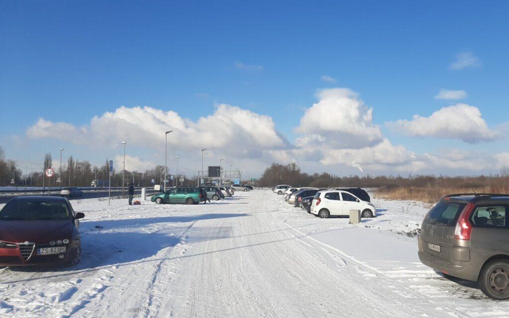 P&R-ulica-Hangarowa-Szczecin-luty-2021