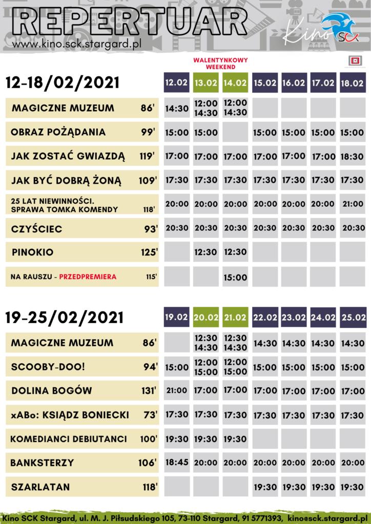 Kino SCK wStargardzie otwiera się wWalentynki