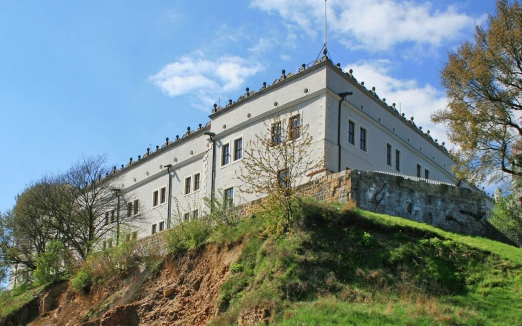 skarpa-wzgórza-zamkowego-Zamek-Książąt-Pomorskich
