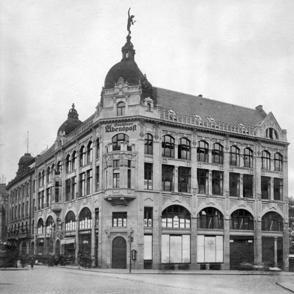 ul. Świętego-Ducha-Szczecin-1925-r.-stara-drukarnia