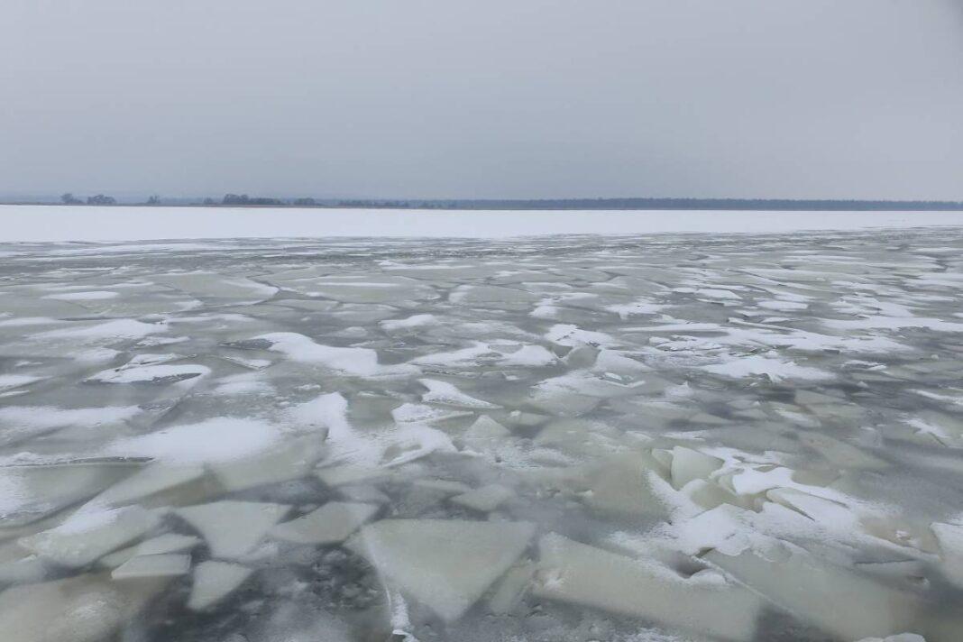akcja lodołamania na Odrze