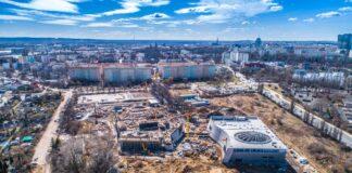 Nowe zdjęcia z placu budowy Fabryki Wody
