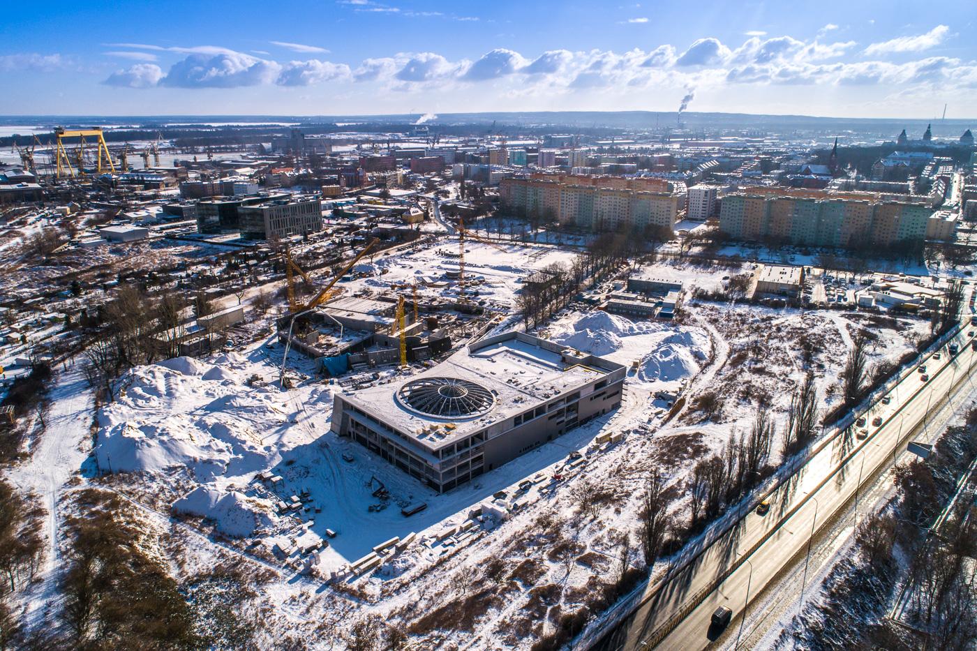 Fabryka Wody - postęp prac