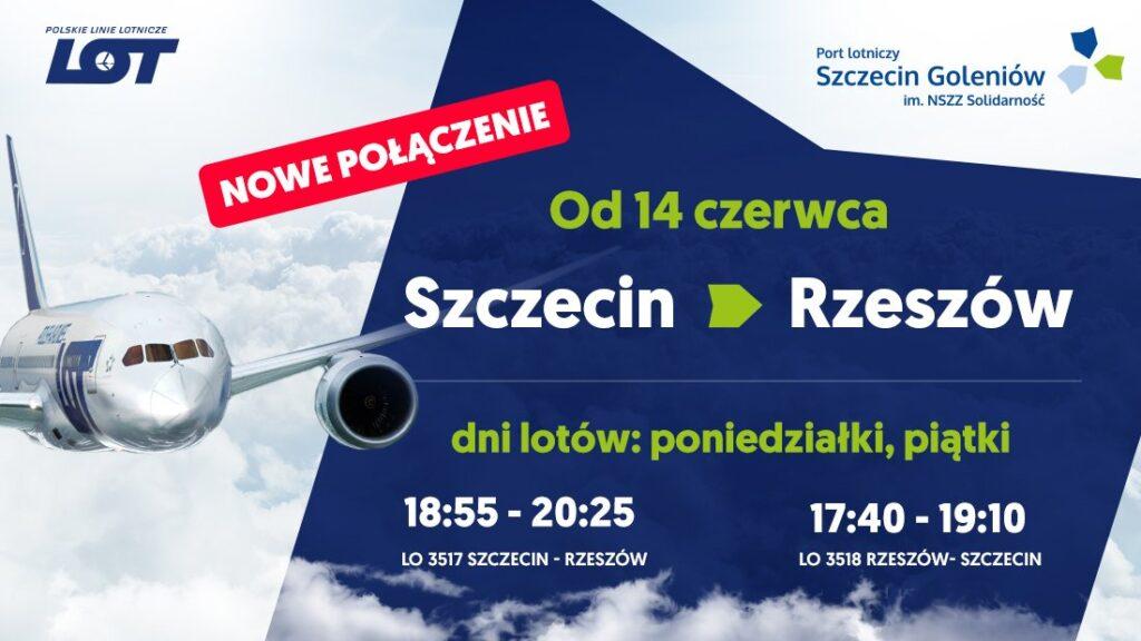 wracają połączenia lotnicze doKrakowa iRzeszowa