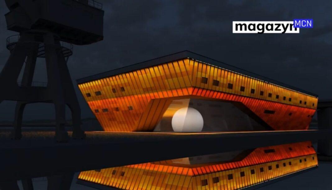 MCN w Szczecinie będzie podświetlone nocą