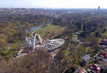 Fotorelacja z placu budowy Teatru Letniego w Szczecinie