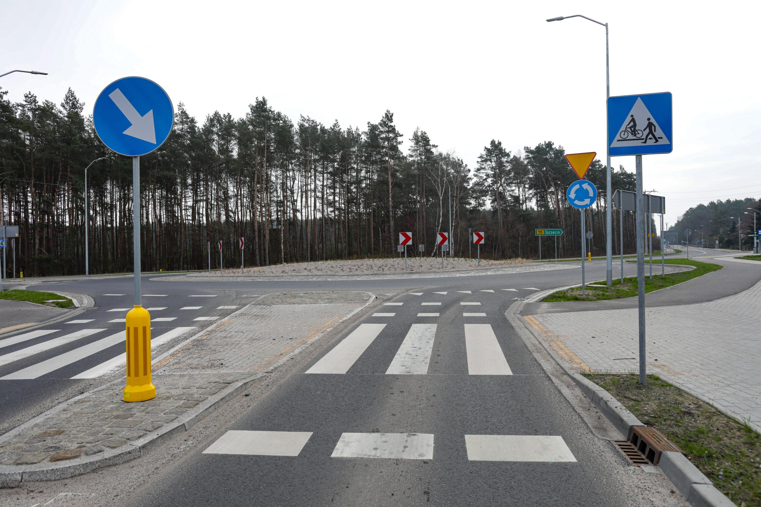 przebudowa ul Szczecińskiej wTanowie