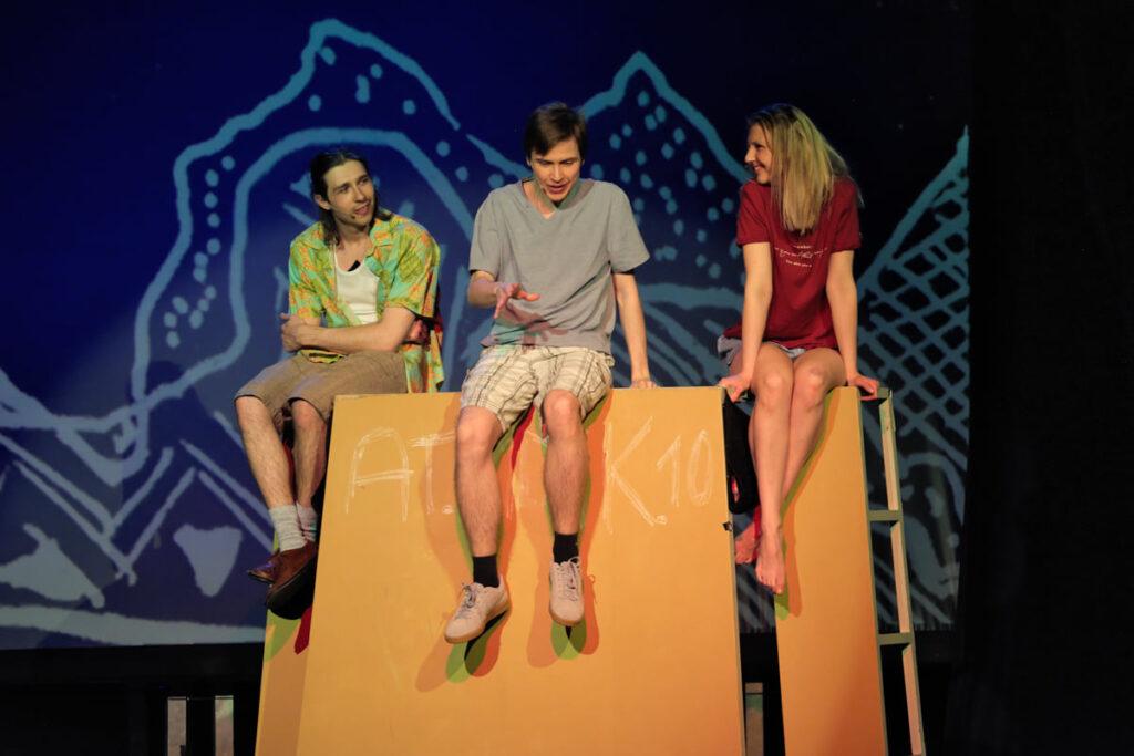 w weekend premiera spektaklu Tschick