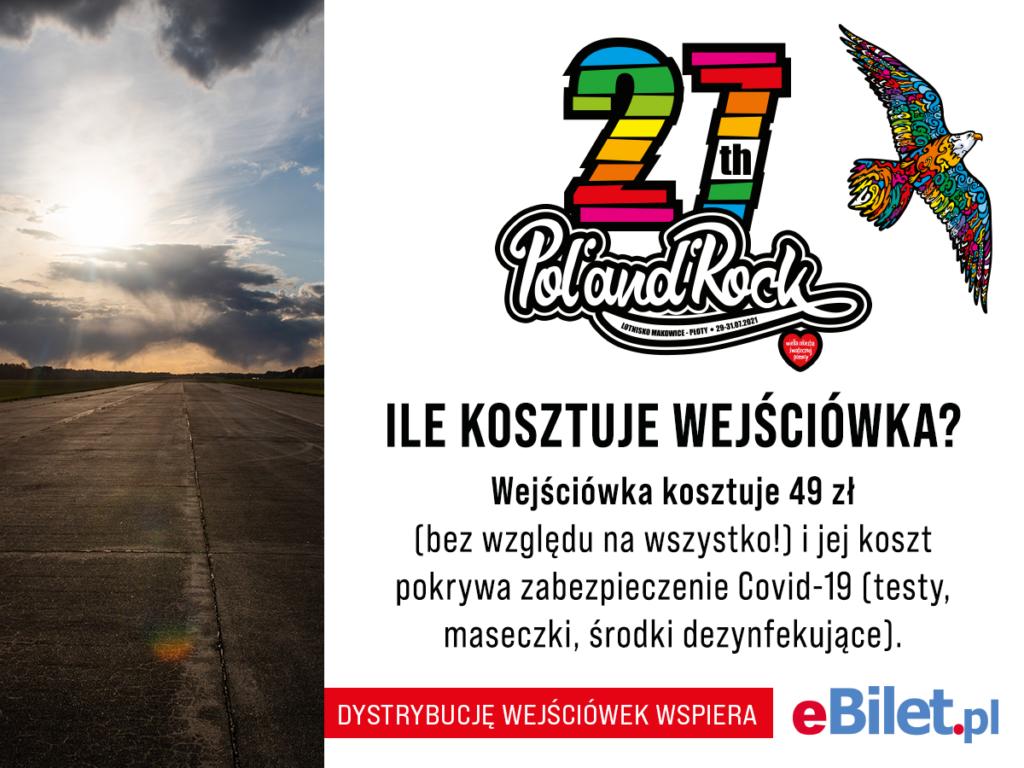wejściówki naPol'and'Rock Festival 2021