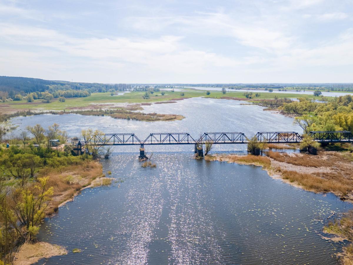 most wSiekierkach otwarty