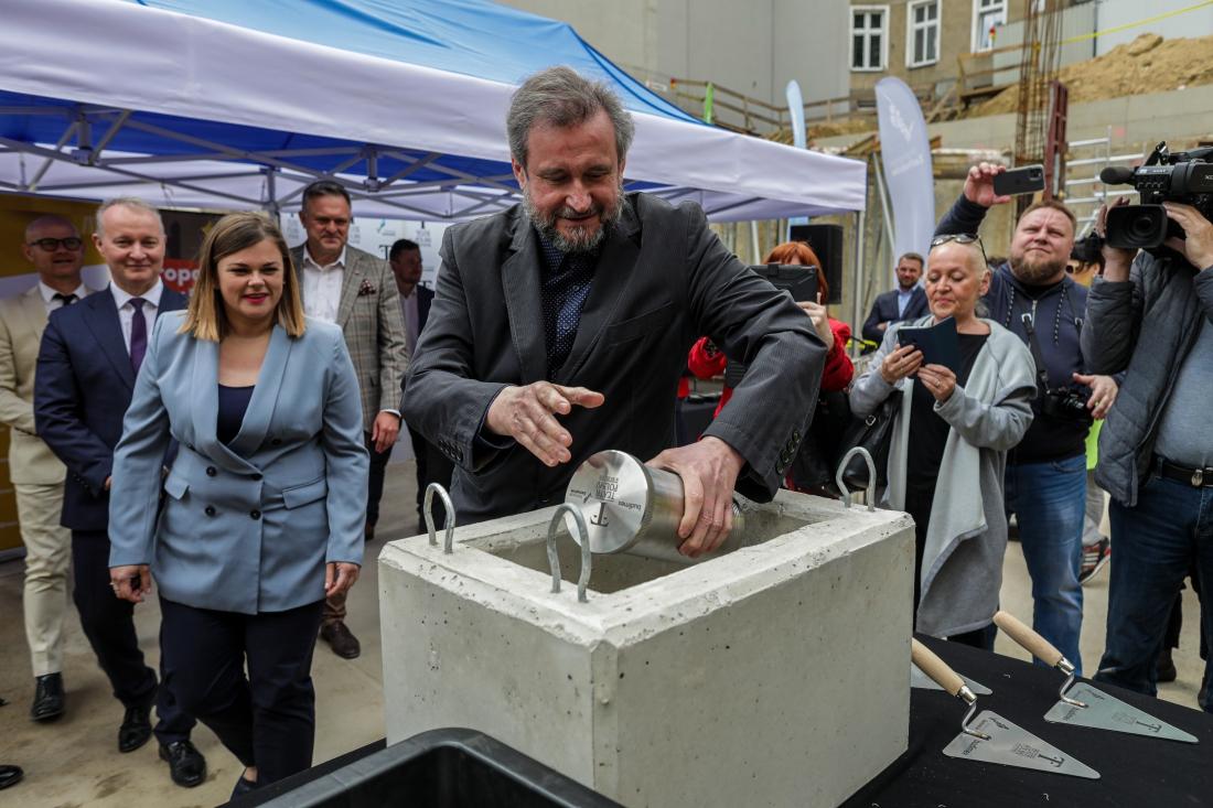 Teatr Polski - kamień węgielny