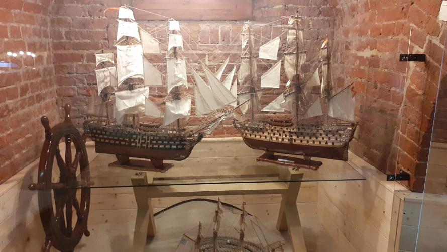 Muzeum modeli statków w Kołobrzegu