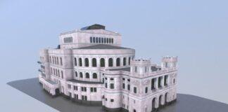 Stettin-3D-model-Teatru-Miejskiego