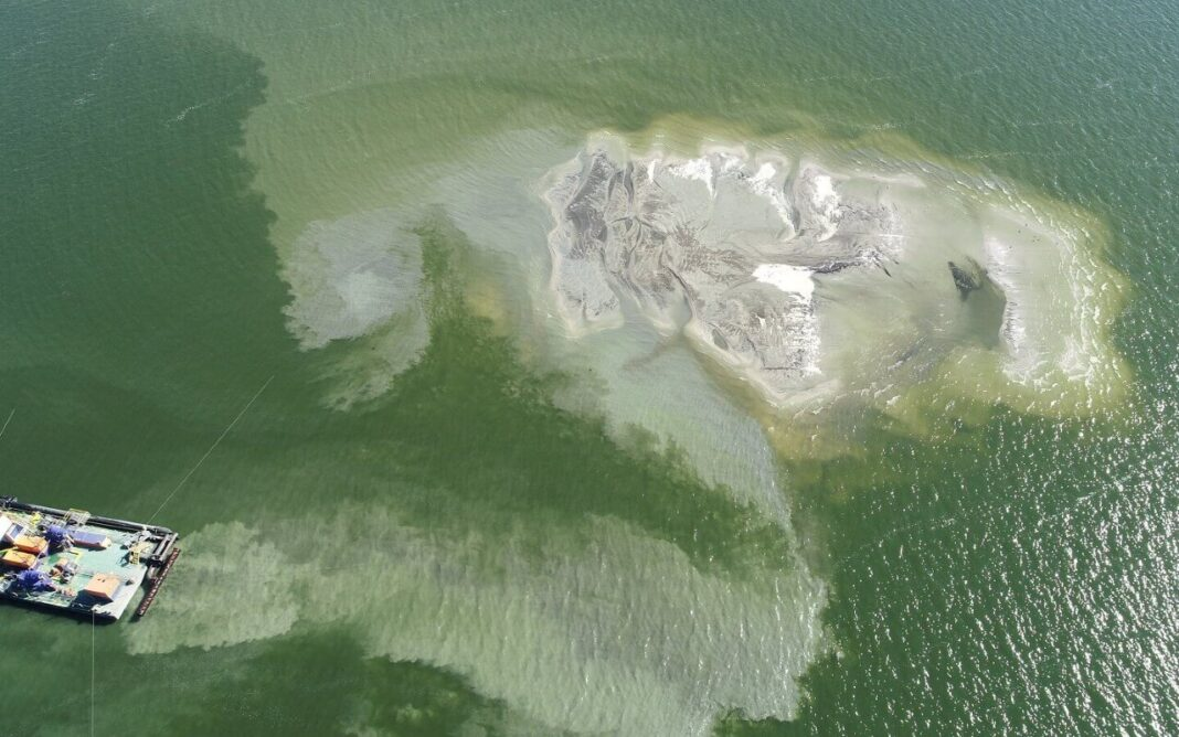 usypywanie-wysp-zalew-szczecinski