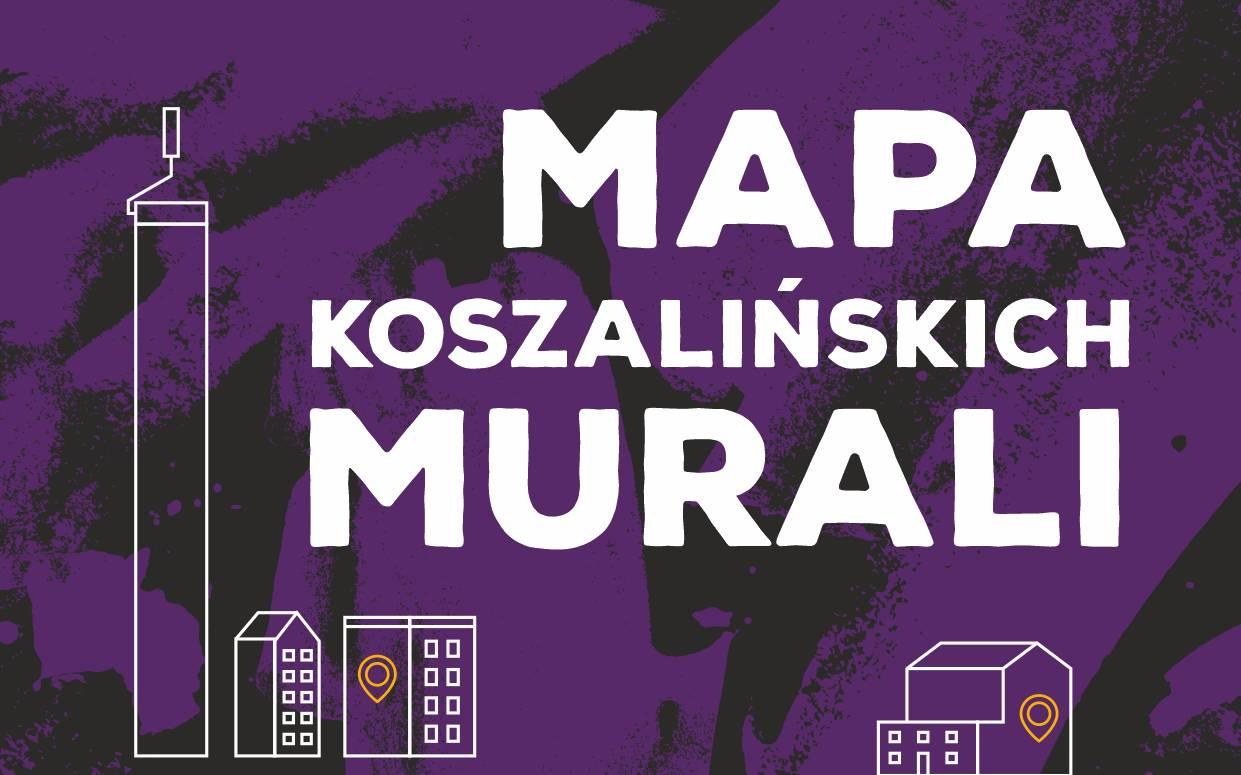 Mapa Koszalińskich Murali