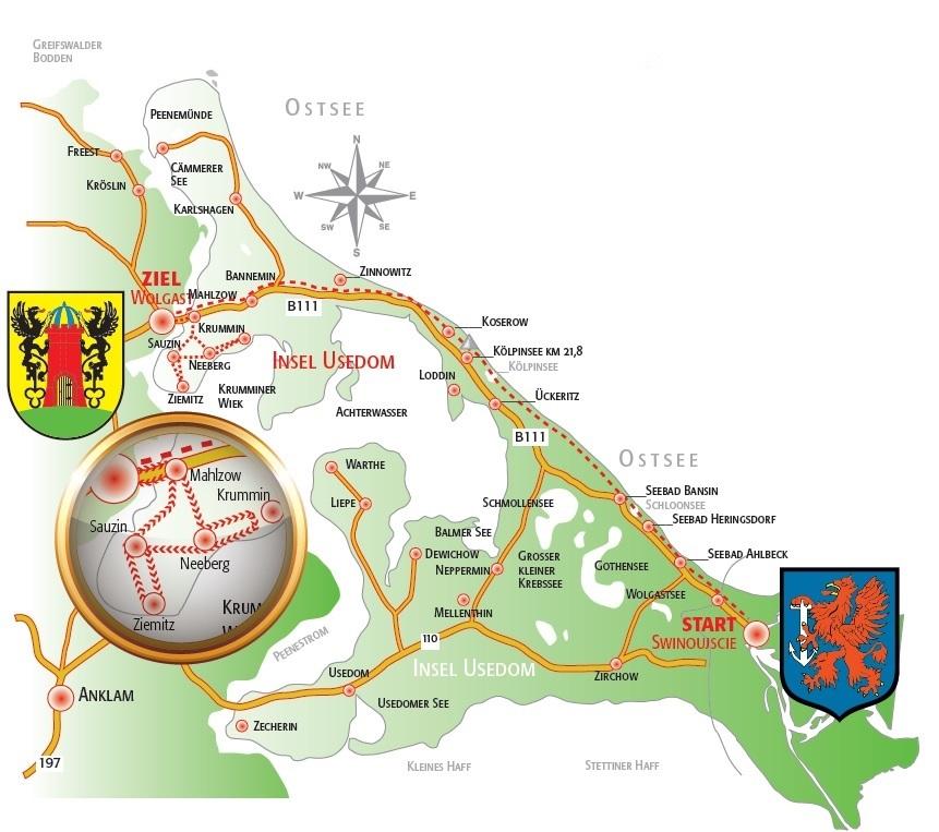 Wraca Maraton Świnoujście - Wolgast