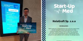 HoloGraft w finale konkursu Start-Up-Med