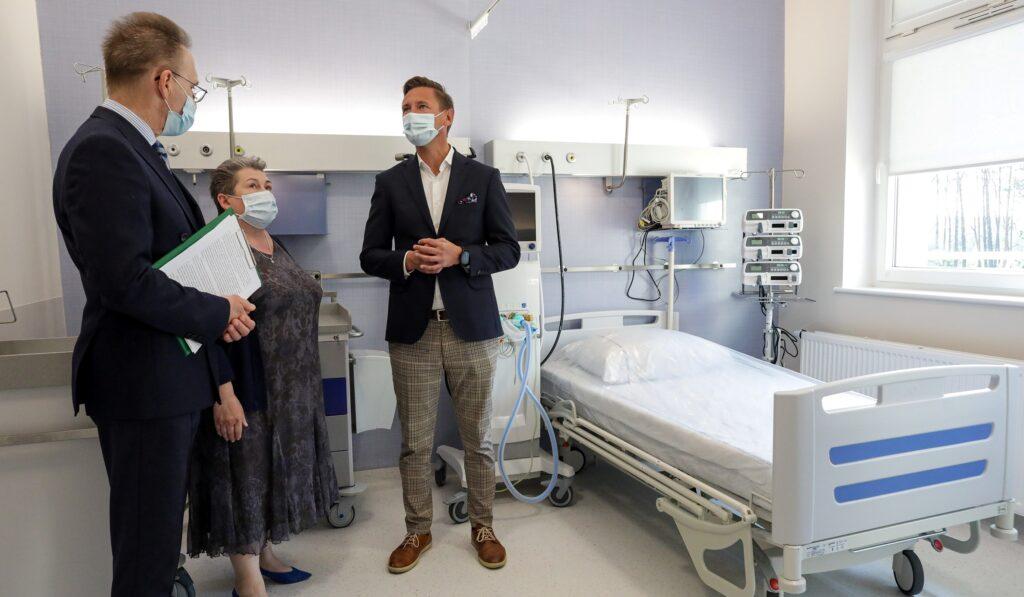 Zakończył się remont Kliniki Chirurgii Klatki Piersiowej iTransplantacji wSzczecinie