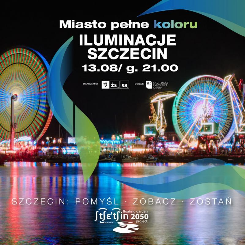 Iluminacje Szczecin 2021