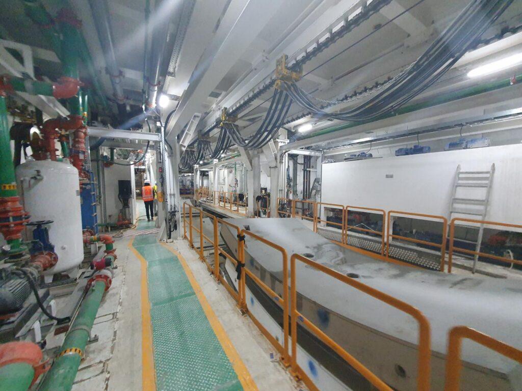 1000 metrów tunelu wŚwinoujściu