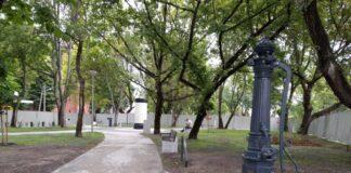 Park Wolności w Podjuchach jeszcze większy