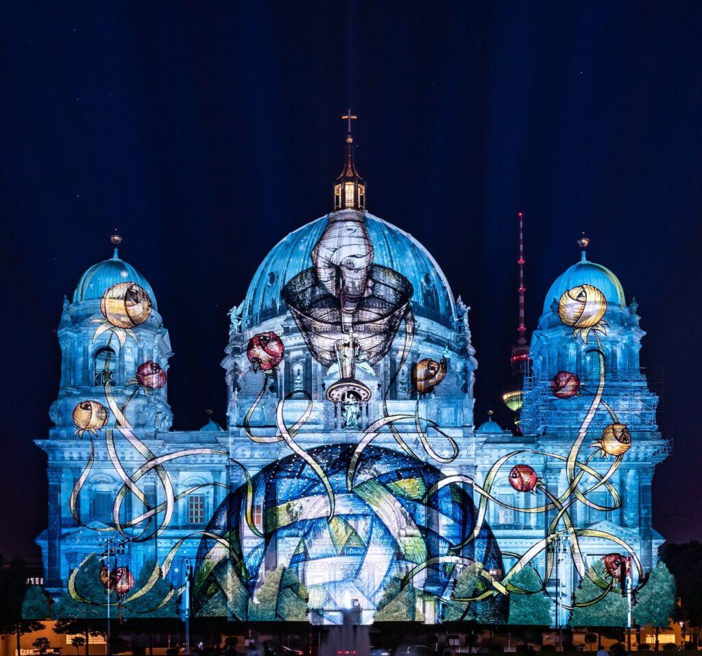 Festiwal Świateł 2021 wBerlinie