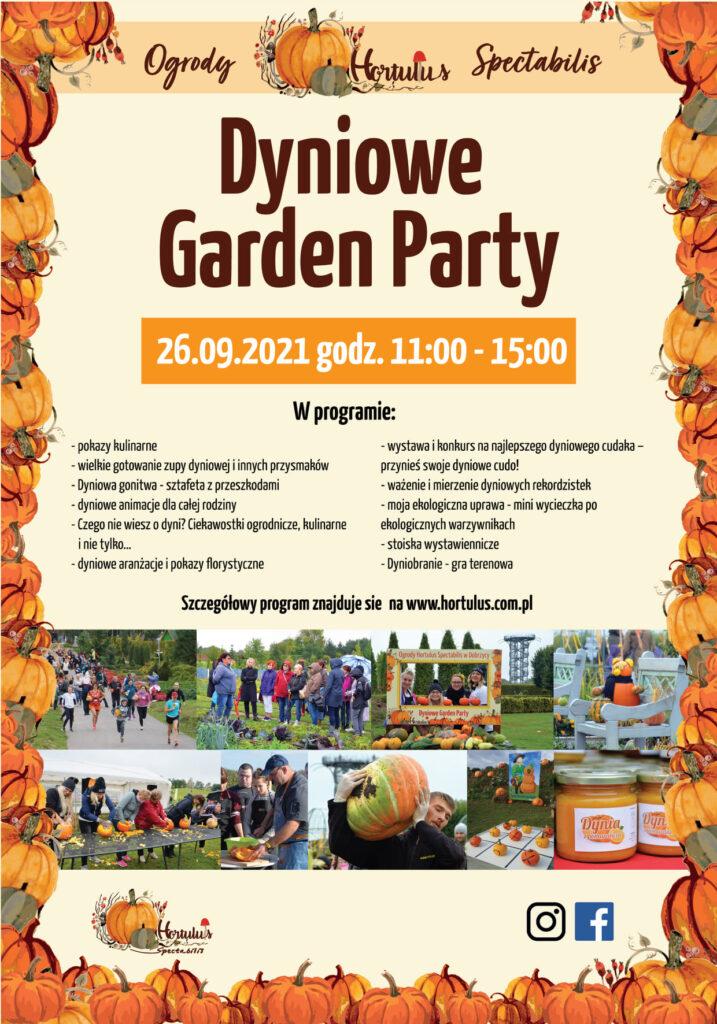 Dyniowe Garden Party 2021