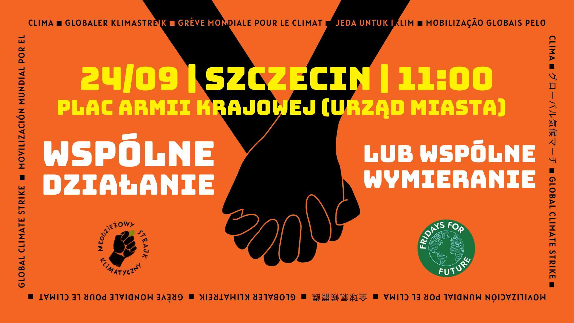 Młodzieżowy Strajk Klimatyczny w Szczecinie