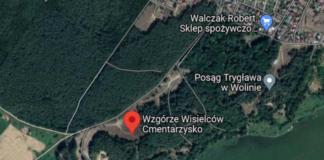 odkryto kurhany w Wolinie